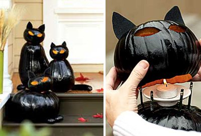 black cat lanterns