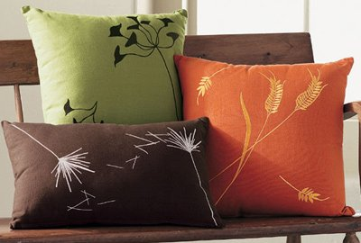 harvest throw pillows