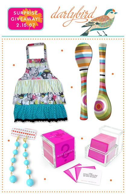 Hostess with the Mostess™ Surprise Giveaway: Darlybird
