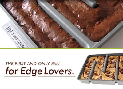 The Edge Brownie Pan
