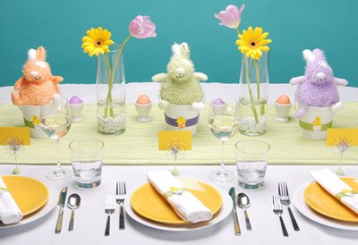 Playful Easter Tabletop