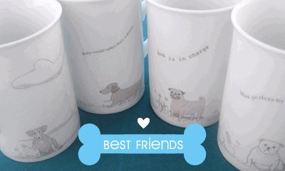 Rabbit Toes Personalized Dinnerware