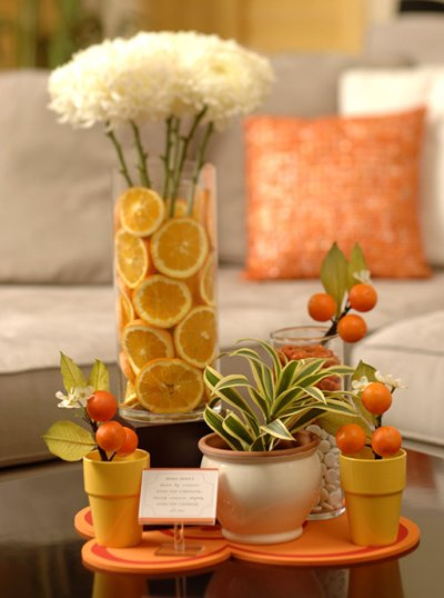 Hostess with the Mostess: Orange Citrus Shower