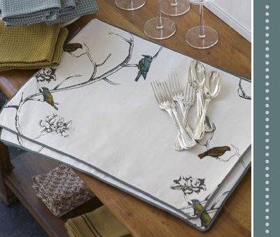 Dwell Table - Chinoiserie Placemats