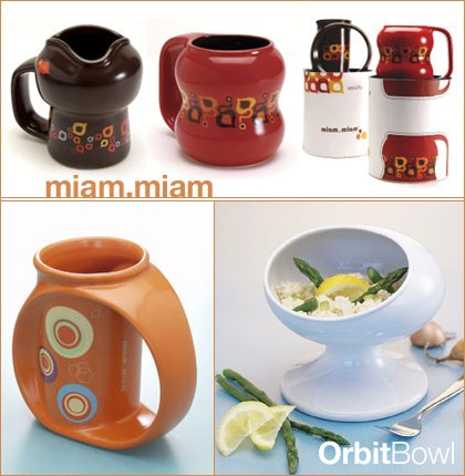 miam miam mugs + orbit bowl