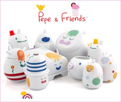 pepe and friends tableware