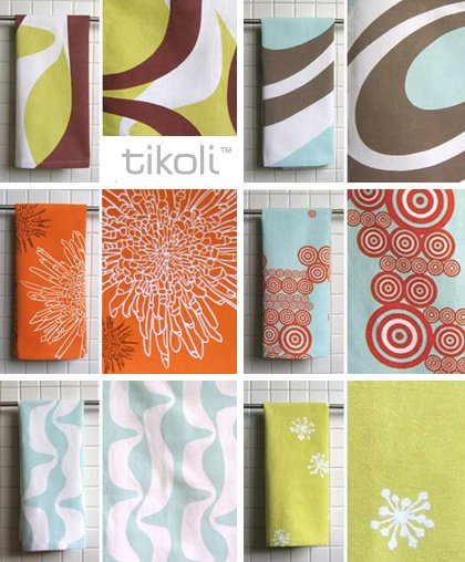 Elegant These Ultra Contemporary Tea Towels By Tikoli™ Will Add A Splash Of Modern  Design To Your Kitchen In A Snap! Influenced By Japanese Prints And  Mid Century ...