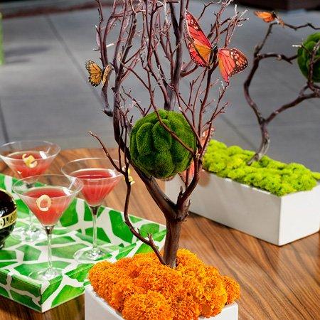 Diy modern spring centerpiece ideas hostess with the mostess solutioingenieria Gallery