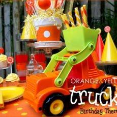 truck themed birthday party ideas