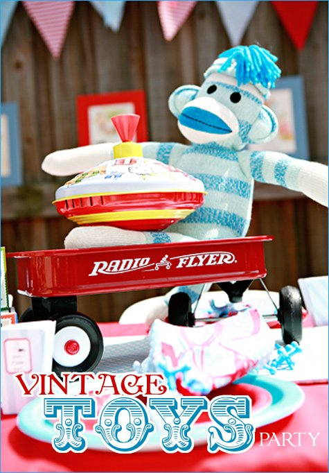 Real Parties Vintage Toys Birthday Hostess With The Mostess