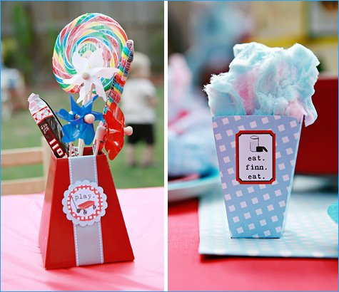 vintage toy birthday party ideas