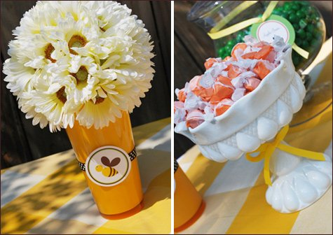 bumble bee birthday party ideas