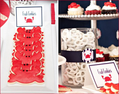 nautical crab shack birthday party ideas