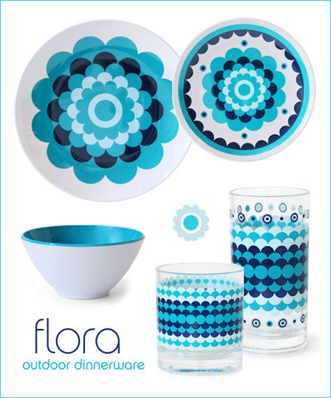 Fabulous Flora & More Fun Tableware // Hostess with the Mostess®