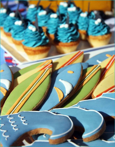 Retro Surfer Birthday Party Ideas