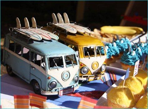 Retro Surfer Birthday Party Ideas