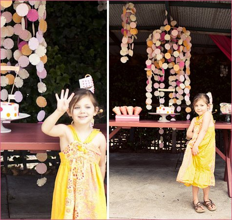 Sherbert and Spice Birthday Party Ideas