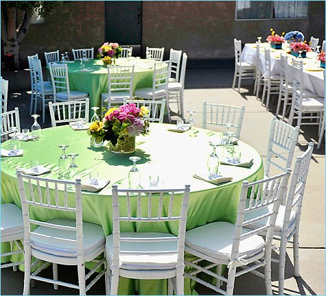colorful summer wedding ideas