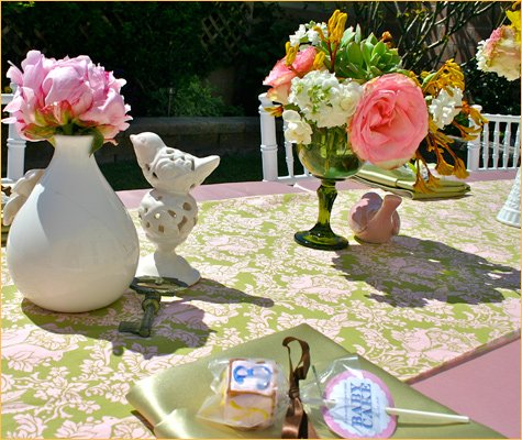 whimsical bird baby shower theme