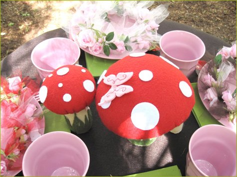 woodland fairy birthday party ideas