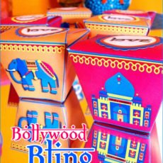 Bollywood Bling Aniversary Party Ideas