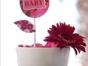 cute baby shower centerpiece idea