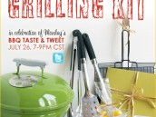 Grilling Taste and Tweet Giveaway Event