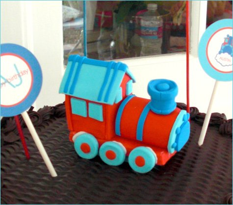 train themed birthday party ideas