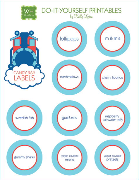graphic about Free Printable Thomas the Train Cup Cake Toppers called Genuine Events: Innovative Coach Birthday // Hostess with the Mostess®