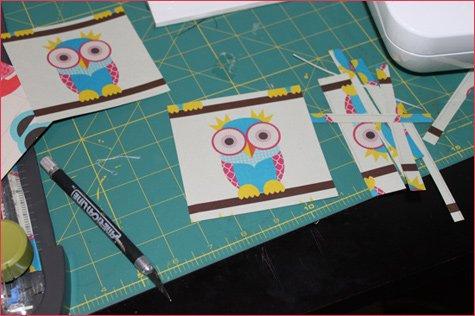 DIY Mod Podge Tile Coaster Tutorial