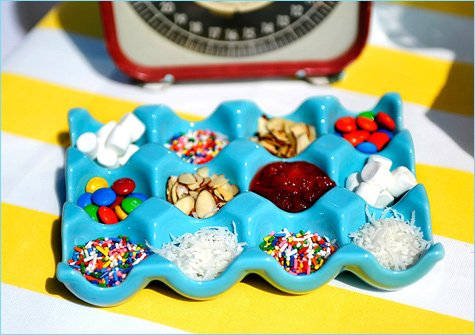 ice cream buffet wedding ideas