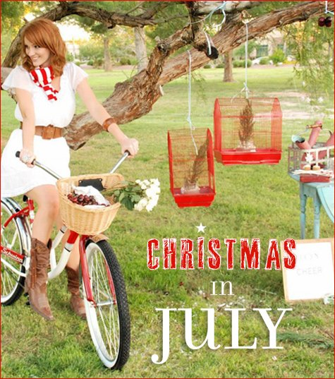 Fun Christmas In July Ideas.Real Parties Christmas In July Hostess With The Mostess