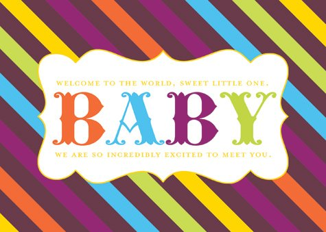 free baby shower printable sign