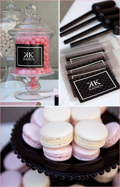 Coco Chanel Bridal Shower Theme
