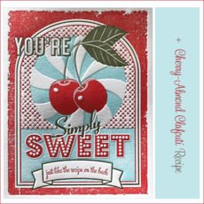 letterpress recipe greeting cards elum