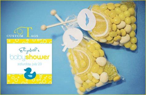 modern rubber ducky baby shower theme ideas