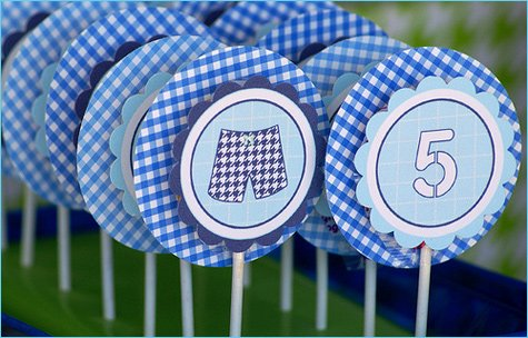 modern pool birthday party ideas