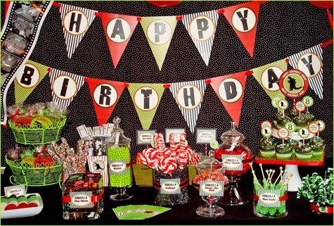 Godzilla Birthday Party Ideas