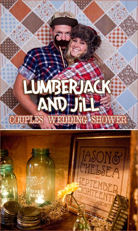 lumbar jack and jill couples wedding shower