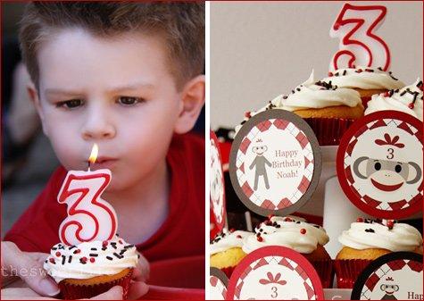 Sock Monkey Birthday Party Ideas