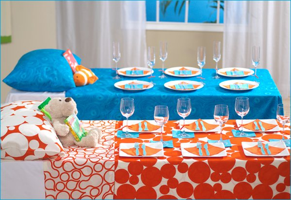 modern baby shower party theme: bedtime story