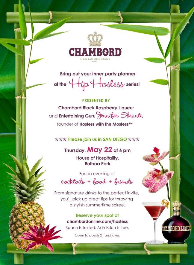 hip hostess series Chambord