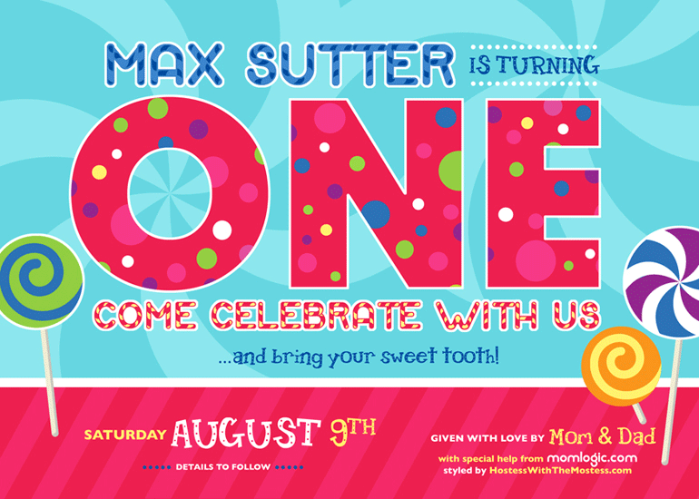 max sutter's birthday party