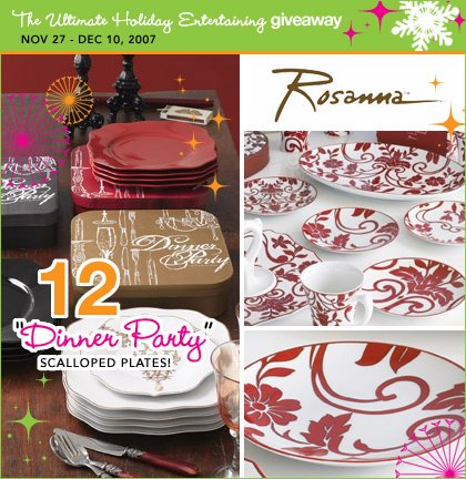 Hostess with the Mostess + Yum Sugar Ultimate Holiday Entertaining Giveaway