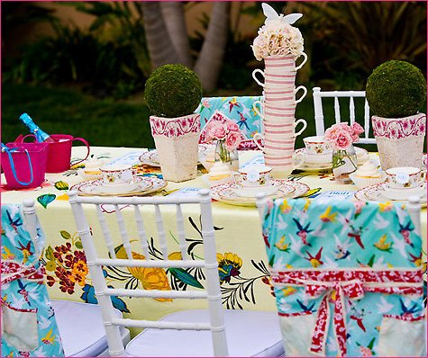 Alice in Wonderland party theme