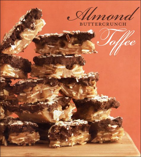 almond buttercrunch toffee recipe