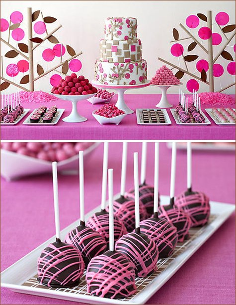 candy and dessert buffets