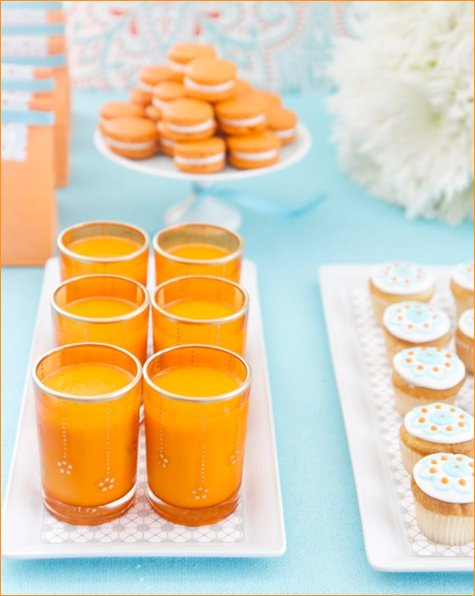 Moroccan Inspired Candy Buffet by Amy Atlas