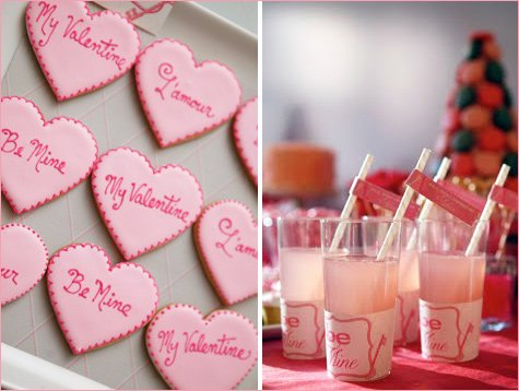 valentines day dessert buffet - Valentines Day Sweets