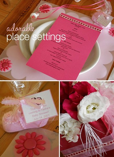 Real Parties: Hot Pink Baby Shower